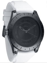 Load image into Gallery viewer, FLUD Big Ben Gunmetal White Straps