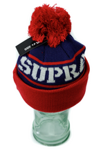 Load image into Gallery viewer, Supra Red Title Beanie