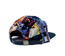 Load image into Gallery viewer, Faded Royalty <br> Skyline 5 Panel Strapback
