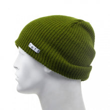 Load image into Gallery viewer, Neff Daily Beanie in Olive Side Shot