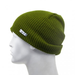 Neff Daily Beanie in Olive Side Shot