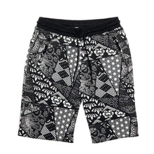 Load image into Gallery viewer, fuji_bandana_shorts_blk_f_1024x1024