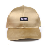 MADE BY PAVLO SATIN CAP (CHAMPAGNE GOLD)