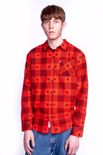 MISHKA Harvester Flannel Button Up