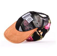 Load image into Gallery viewer, Roses Floral Fieldmaster Snapback Bottom