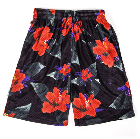 Reason Clothing's Nightshade Floral Shorts
