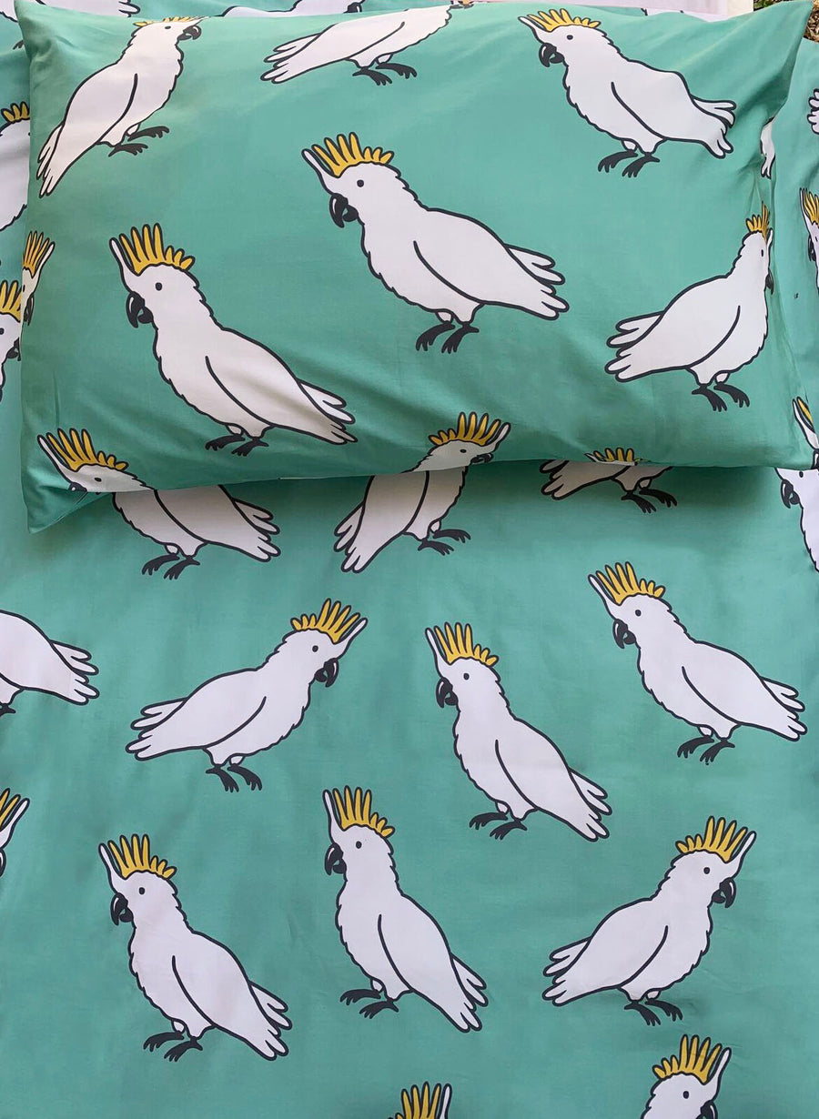 Cockatoo Fitted Sheet