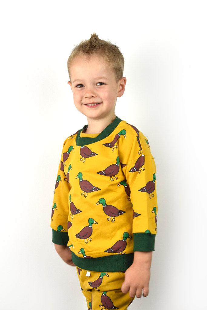 Mustard Duck Jumper