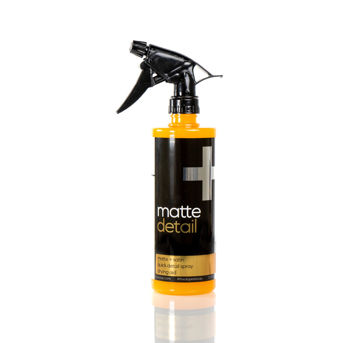 New - Matte Detail Spray & Dry Aid