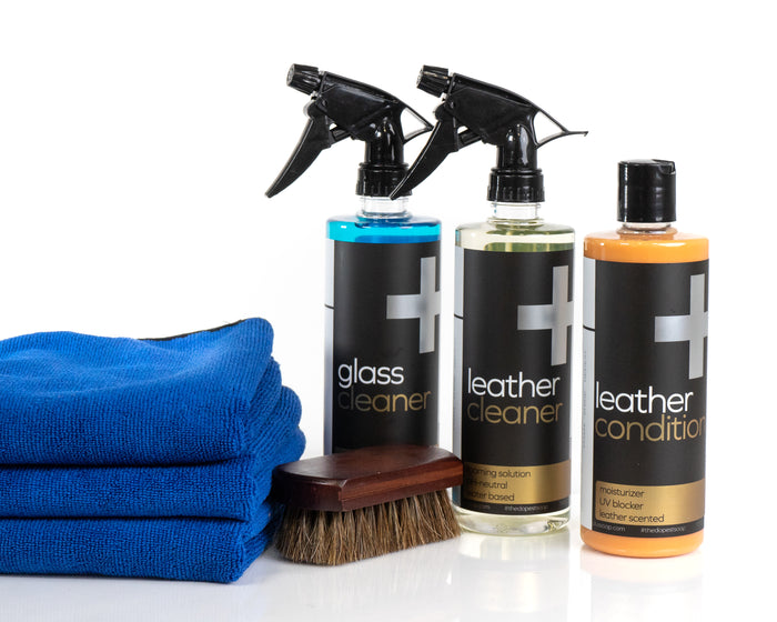 Leather Clean & Condition Kit