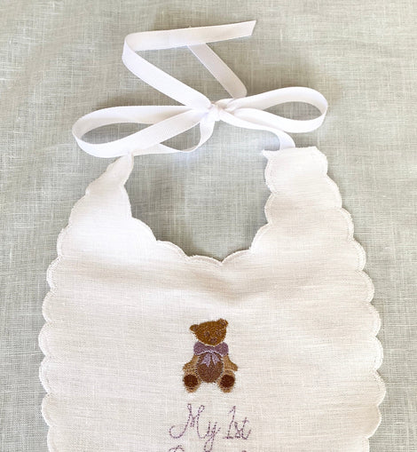 Storybook Bear Bib