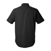 GMAAN Under Armour Men's Ultimate Short Sleeve Button Down Black