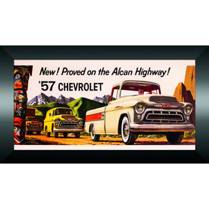 1957 Chevy Truck Billboard Banner - GM Company Store