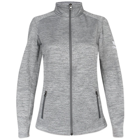 Cadillac Ladies Stripe Fleece Jacket - GM Company Store