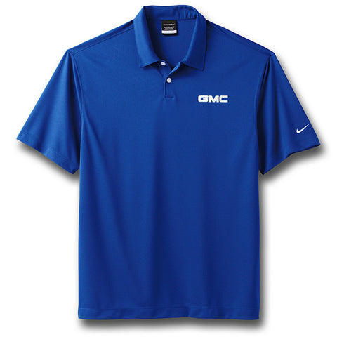 Royal Blue GMC Nike Polo