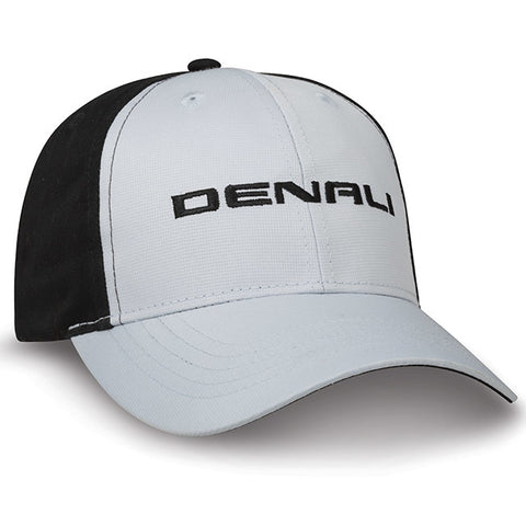 Performance Cap-Gray w/Blk Denali-GMC