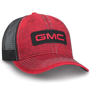 GMC Red Washed Cap - GM Company Store