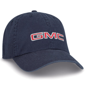 GMC Navy Washed Canvas Cap - GM Company Store