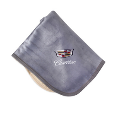 Cadillac Sherpa Lined Micro Mink Baby Blanket