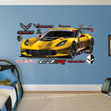 Fathead 2015 Corvette C7R Wall Decals - GM Company Store