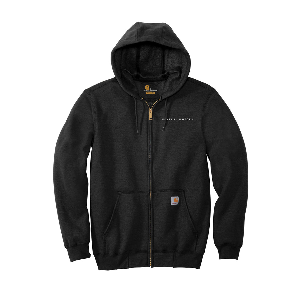 General Motors Carhartt Men's Mid-Weight Full Zip Hoodie
