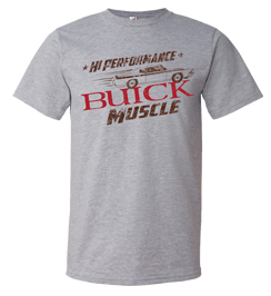 Buick Hi-Performance Muscle Car Image T-shirt