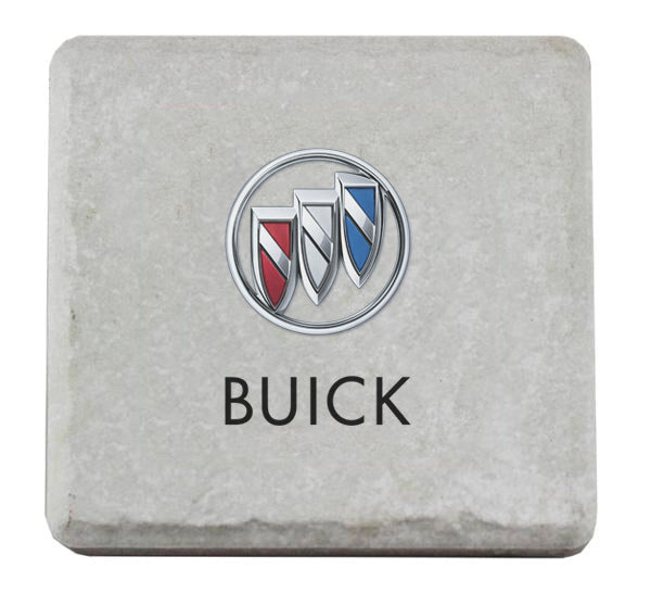 Buick Stone Tile Coaster - GM Company Store