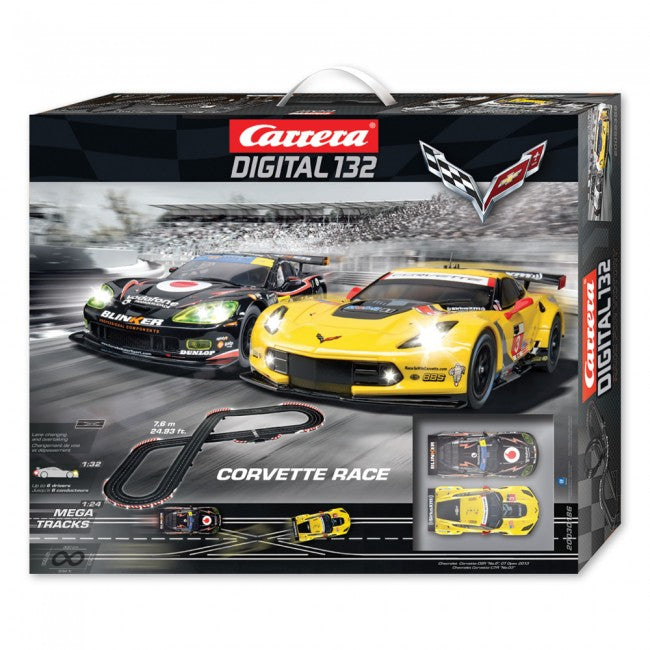 Carrera Digital 132 Corvette Race Track - GM Company Store