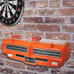 69 Pontiac GTO Judge 3-D Wall Shelf - GM Company Store