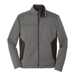 General Motors - The North Face - Men's Ridgeline Soft Shell Jacket - Asphalt Grey - GM Company Store