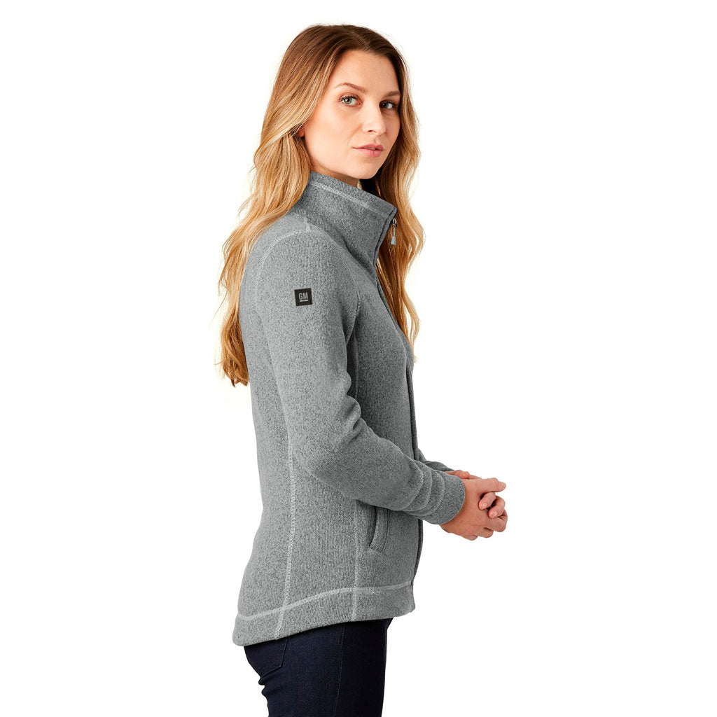 c6e86700d General Motors - The North Face - Ladies Sweater Fleece Jacket - Medium Grey