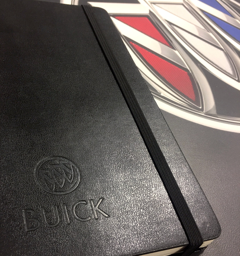 Buick Moleskin Journal - GM Company Store