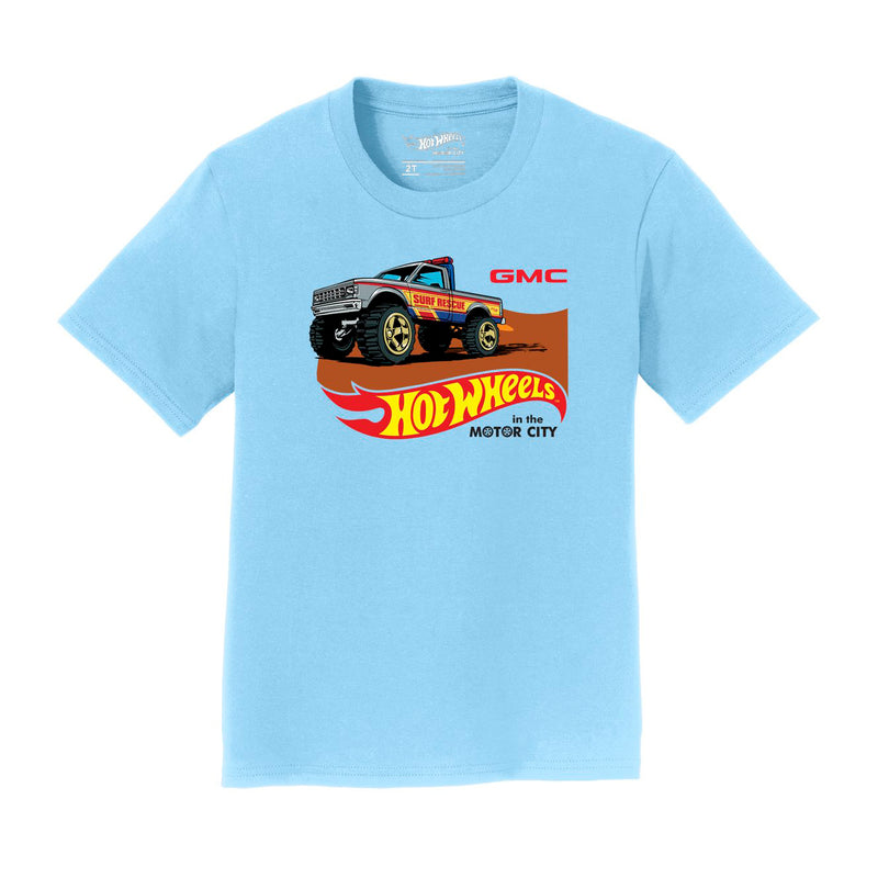 Hot Wheels In The Motor City GMC Toddler Tee