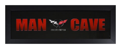 C5 Corvette Framed Man Cave - GM Company Store