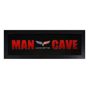 C6 Corvette Framed Man Cave - GM Company Store