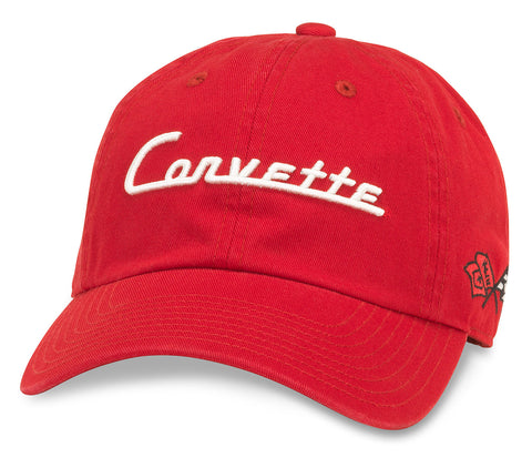 Corvette Hat-Red by American Needle