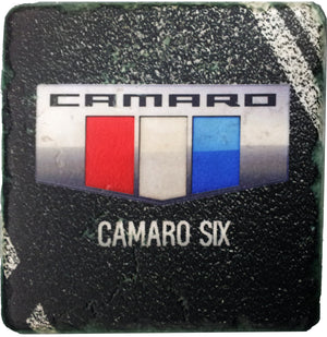 Camaro Six Coaster - Red - GM Company Store