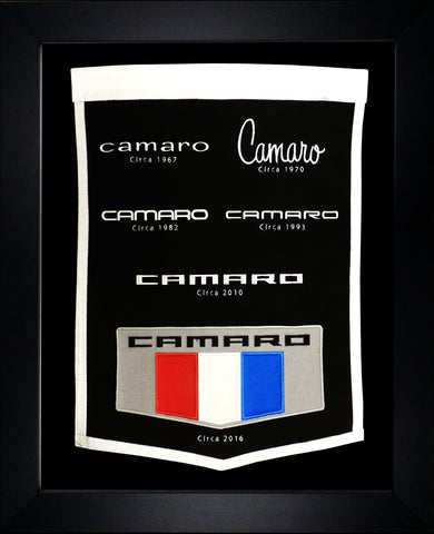 Camaro Generations Wool Banner - GM Company Store