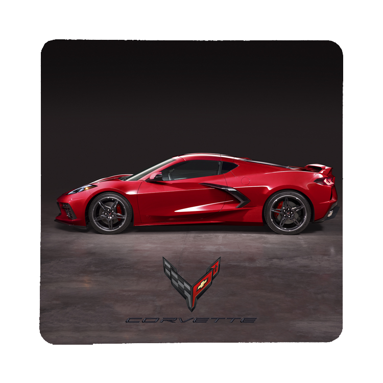 2020 Next Generation Corvette-Side View Coaster - GM Company Store