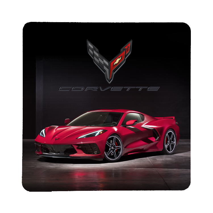 2020 Next Generation Corvette Coaster - GM Company Store