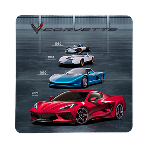 2020 Next Generation Corvette-Mid-Engine Concepts Coaster - GM Company Store