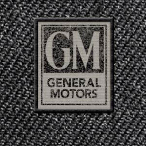 GM Vintage Logo Wool Flat Bill Cap