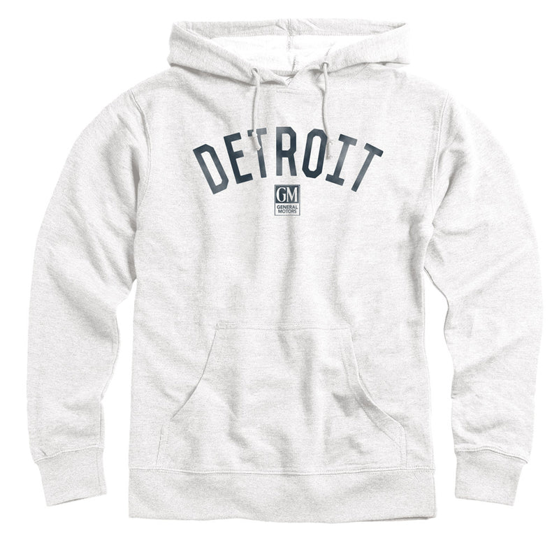 GM Detroit Arc Adult Heavyweight Fleece Hoodie