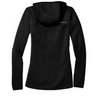 GMAAN Ladies Hooded Full Zip Jacket Black