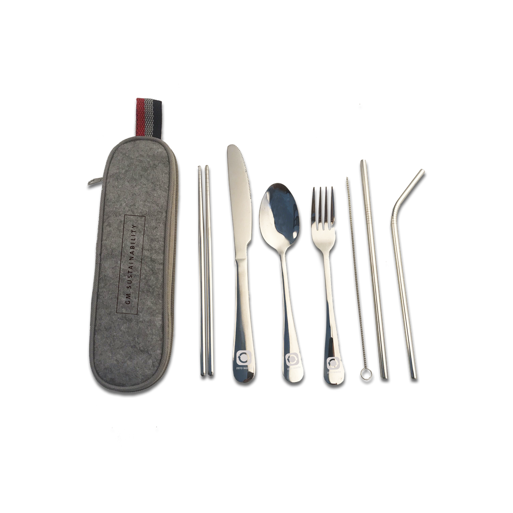 GM Sustainability Travel Silverware Set - GM Company Store