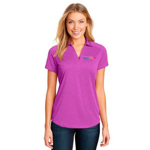 GM Women  Ladies Digi Heather Performance Polo - GM Company Store