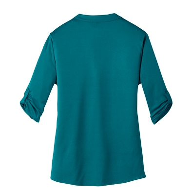 GM Women  OGIO® Henley-Teal