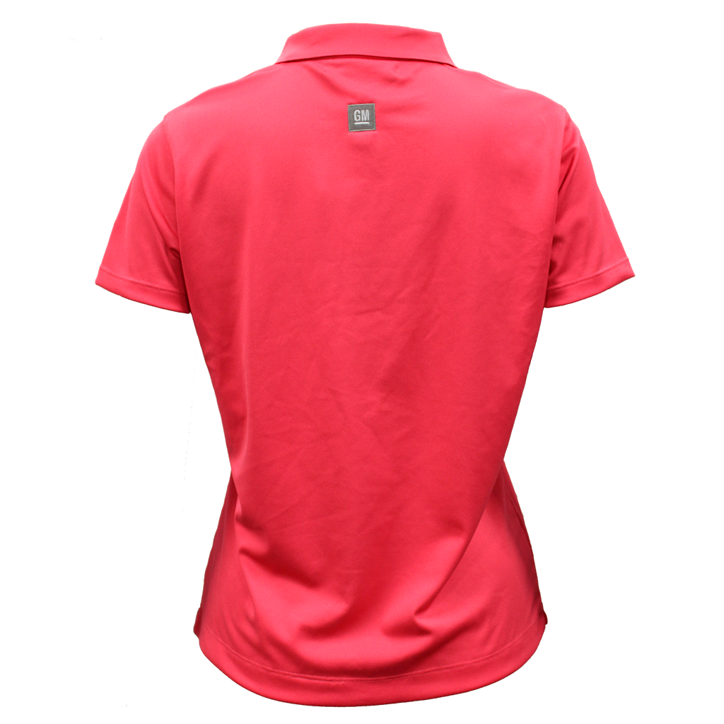 General Motors Ladies Nike Dri Fit Polo-Flamingo