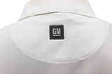 General Motors Men's Nike Golf Tech Polo. White. - GM Company Store