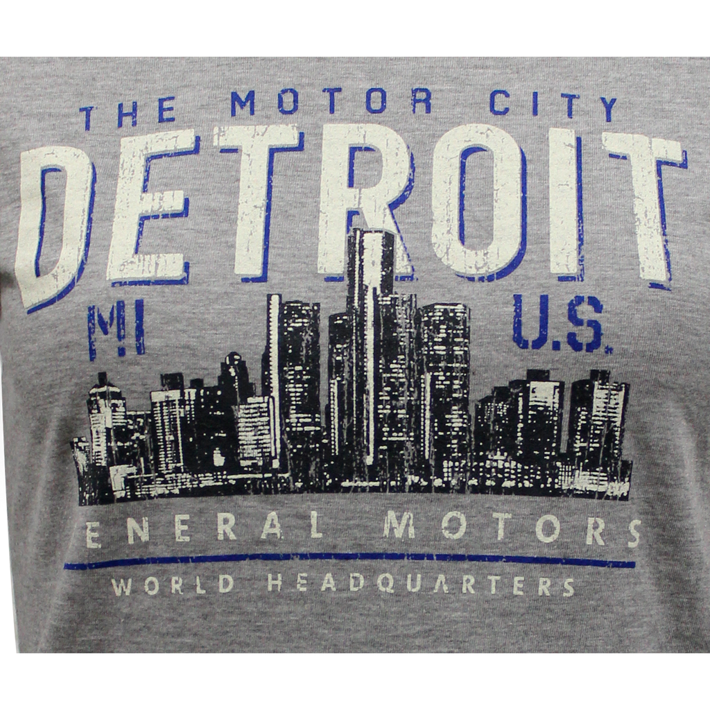 Ladies General Motors World Headquarters Motor City T-shirt